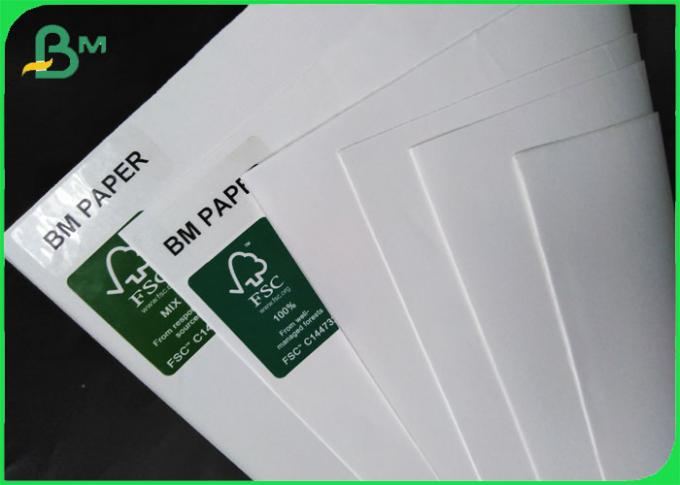 FSC Certified UWF Uncoated Woodfree paper 80 100 120gsm OBA free in Sheets