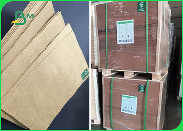 carta kraft di Brown Di alta rigidezza di 80g 100g 120g per risi d'imballaggio 70 * 100cm